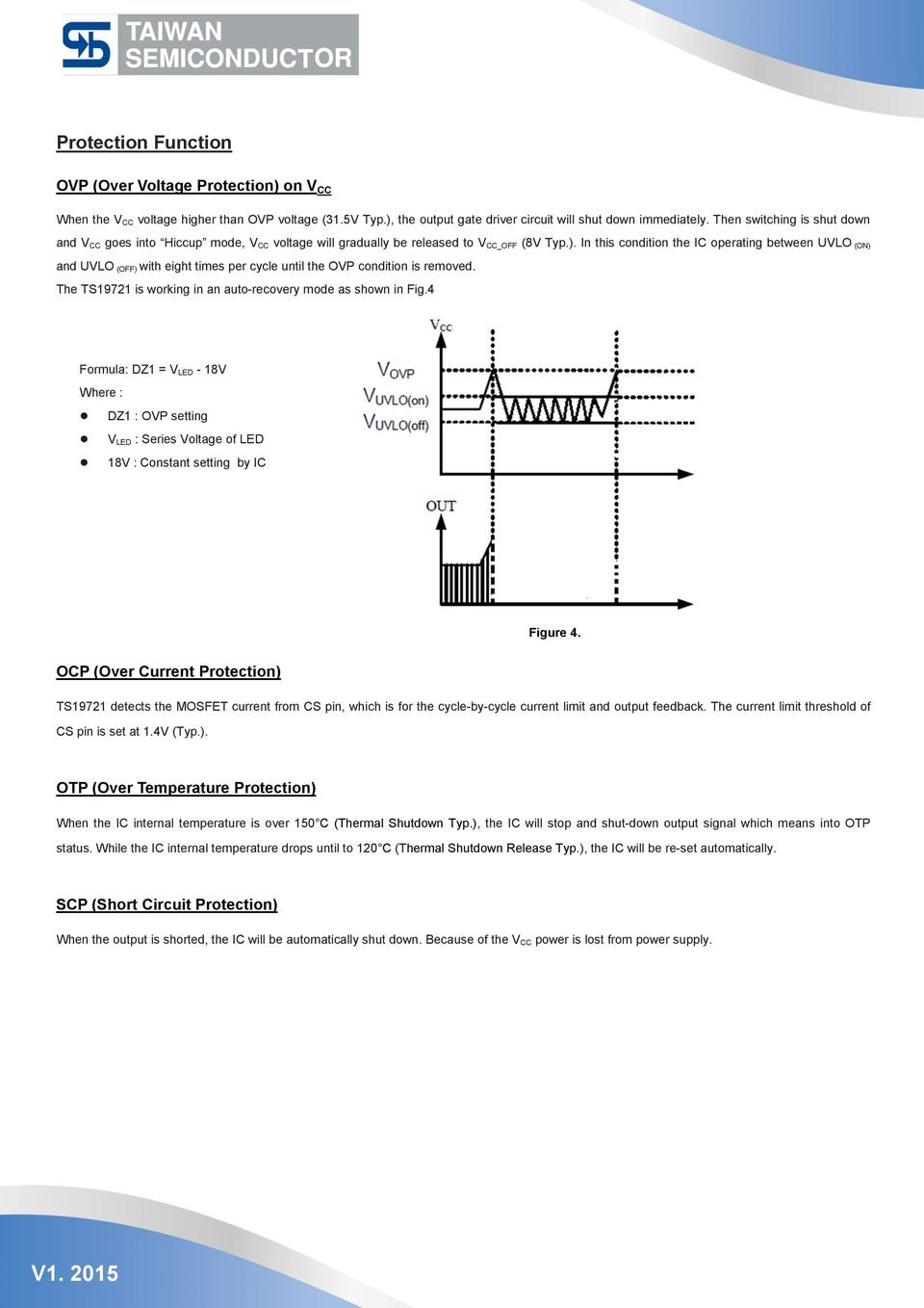 Application Note Ts Pdf Of A Boost Converter With External Mosfet For Short Circuit Protection In This Condition The Ic Operating Between Uvlo On And Off