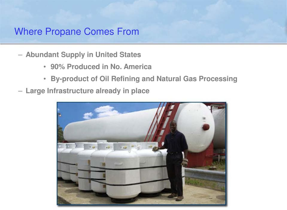 America By-product of Oil Refining and