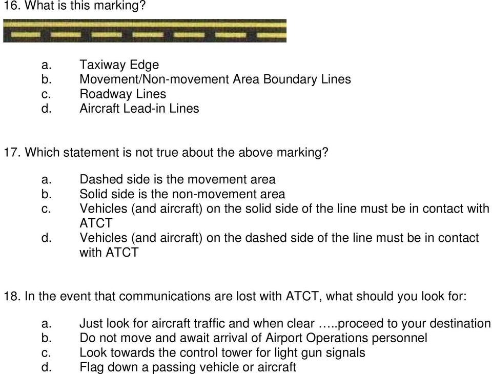 AIRFIELD DRIVING TEST - PDF