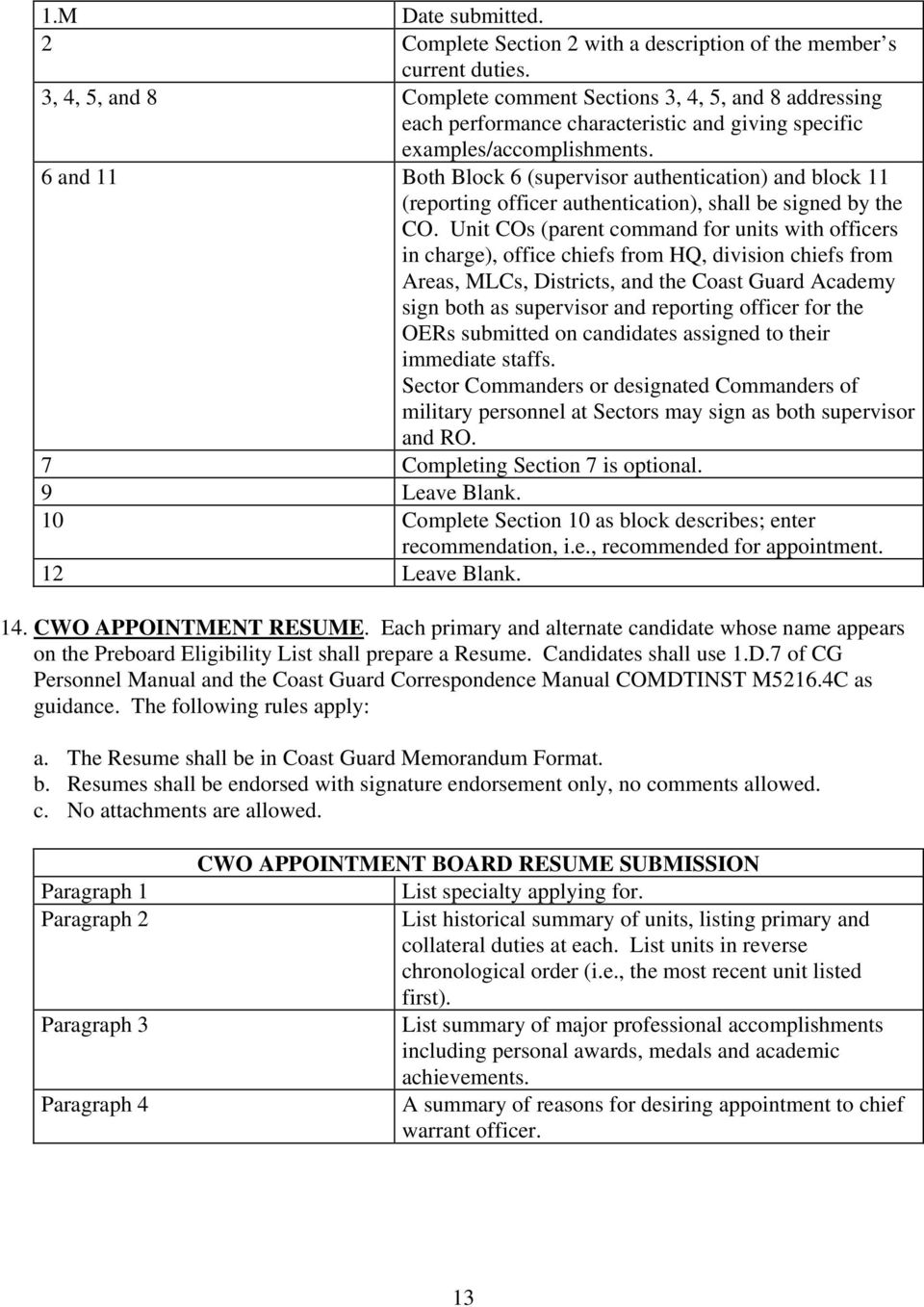 Active Duty Chief Warrant Officer Cwo Appointment Guide Pdf