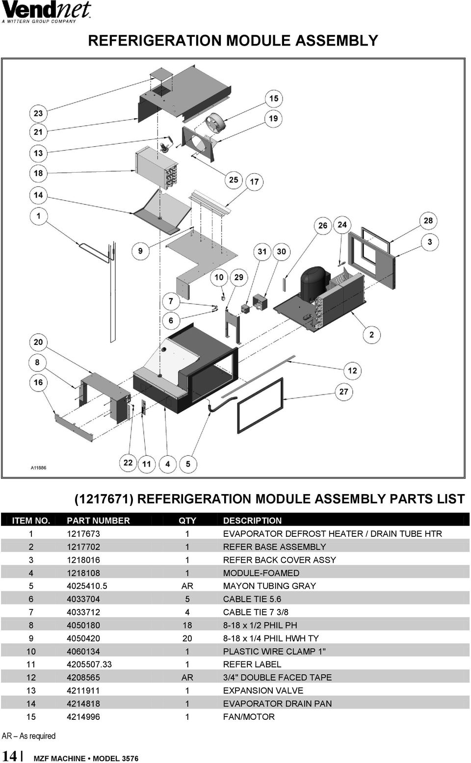 Multi Zone Foamed Machine Model Parts Manual Pdf Door Shroud Latch Assembly Diagram And List For Maytag 1 Module 5 40254105 Ar Mayon Tubing Gray 6 4033704 Cable Tie
