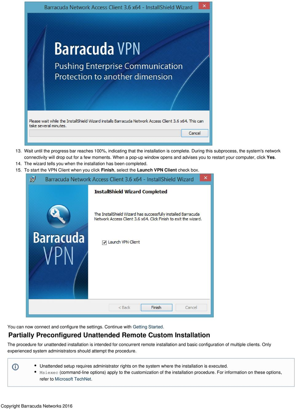 1  Overview Release Notes Release Notes - Barracuda NAC/VPN Client