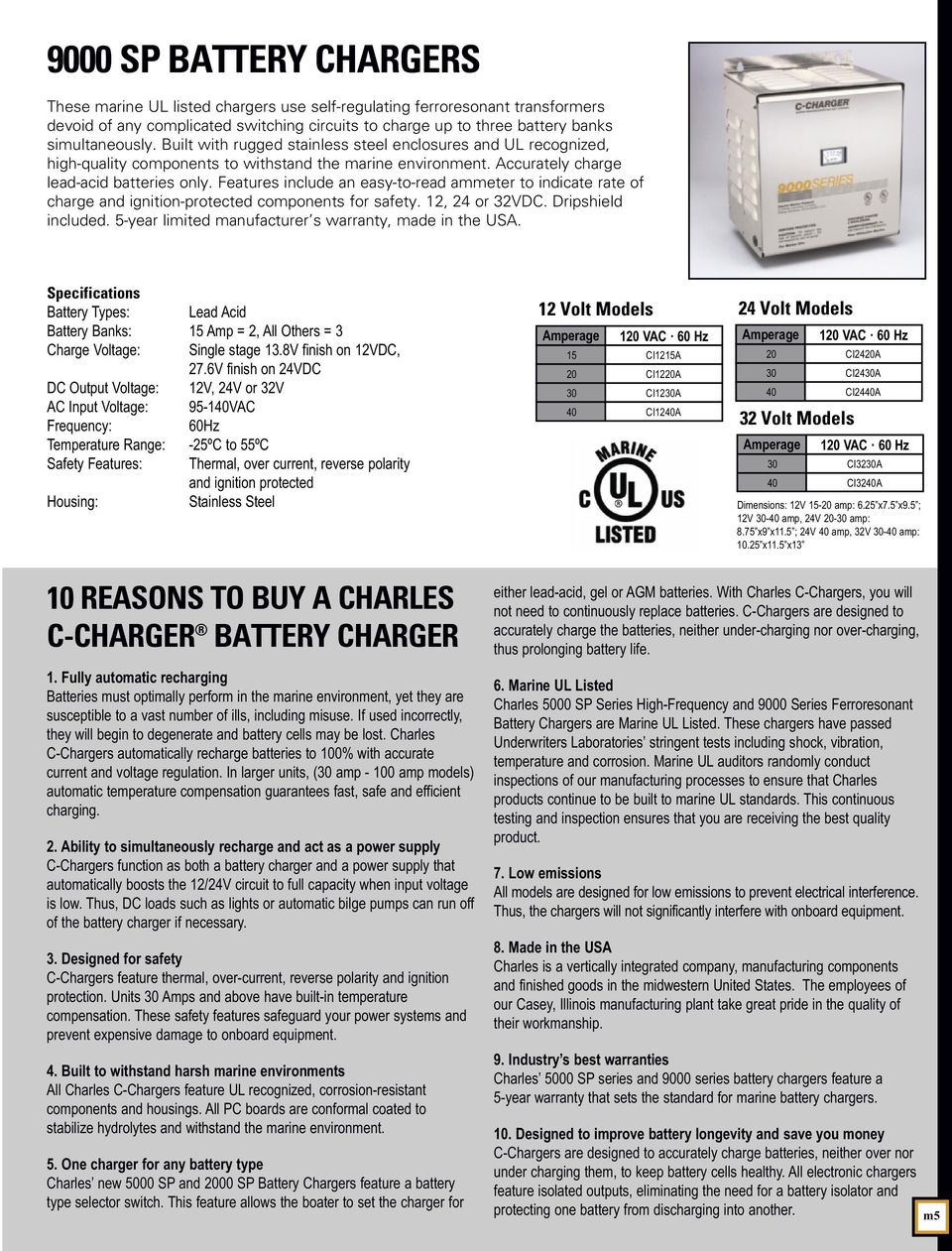 Marine Solutions Pdf Precise Low Voltage Power Supply This Eliminate Include An Easy To Read Ammeter Indicate Rate Of Charge And Ignition