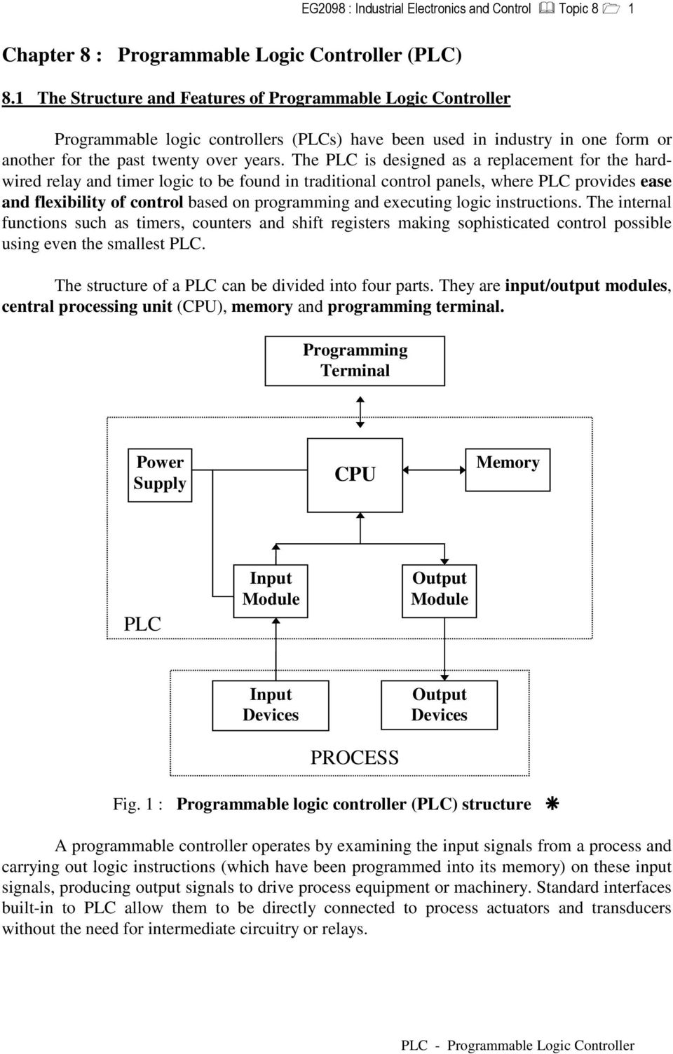 8 1 The Structure and Features of Programmable Logic