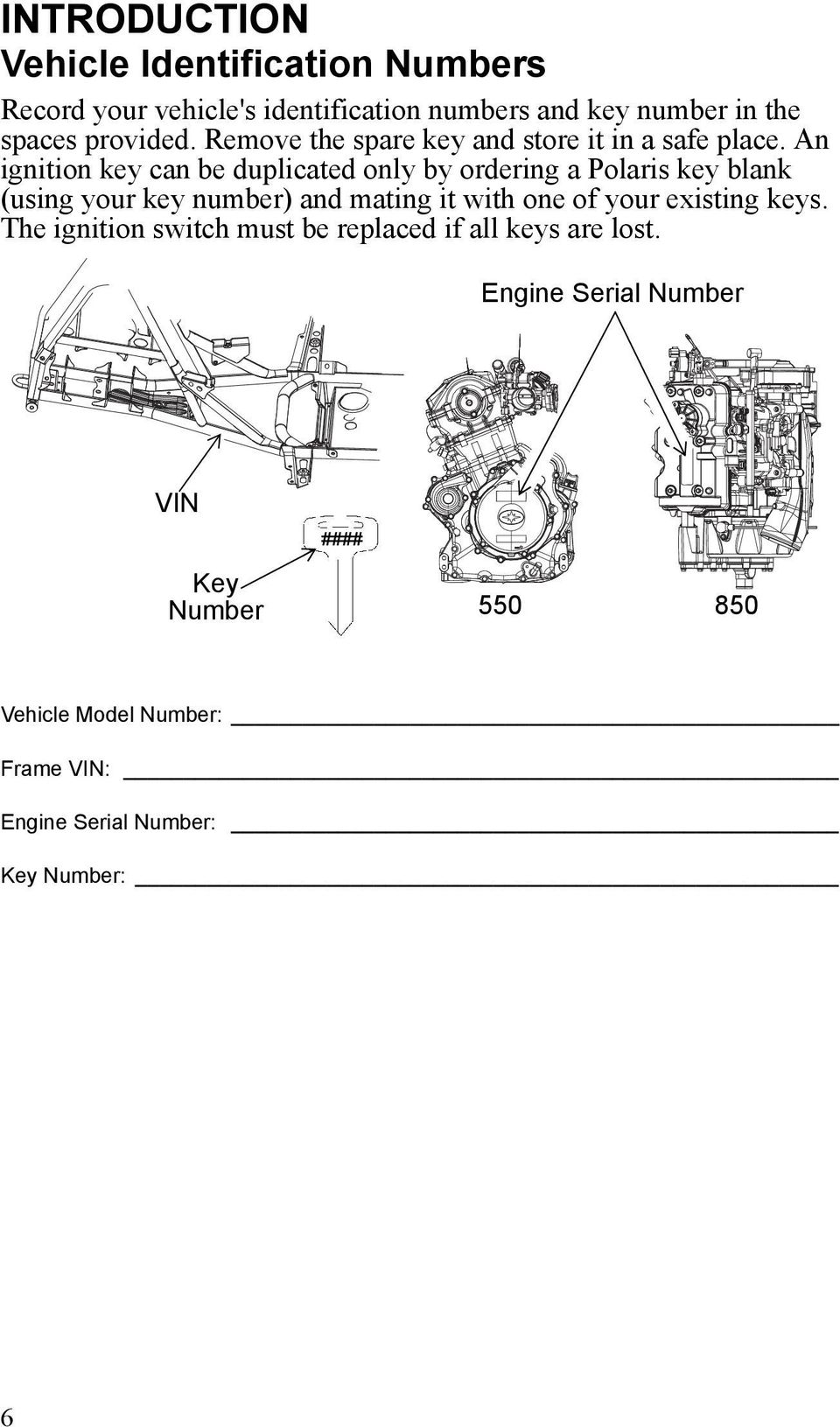 Sportsman 550 Xp Eps 850 Vw Bus Engine Diagram With Wheelie Bar An Ignition Key Can Be Duplicated Only By Ordering A Polaris Blank Using Your