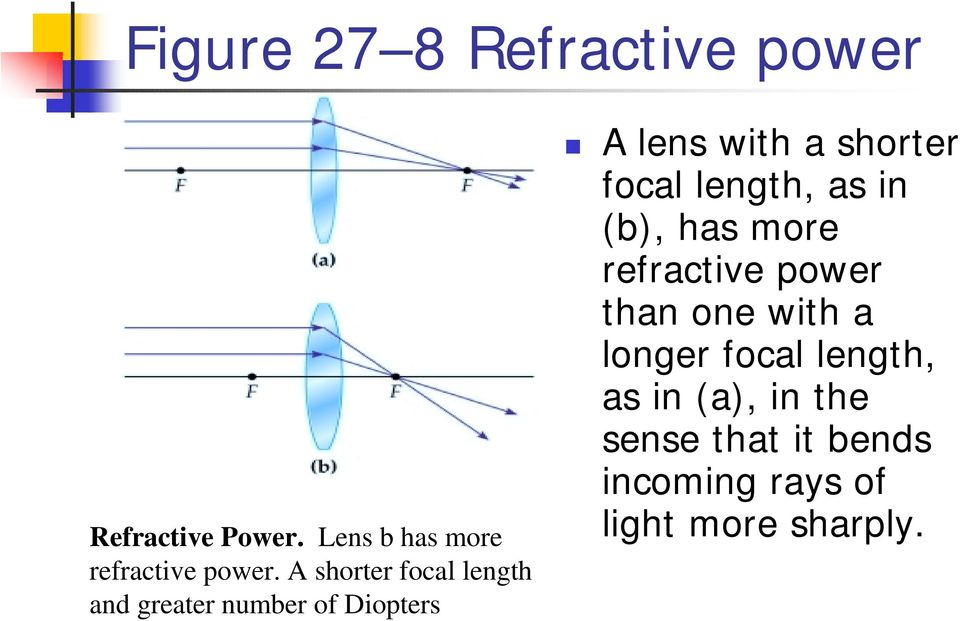 Chapter 27 Optical Instruments The Human Eye And The Camera