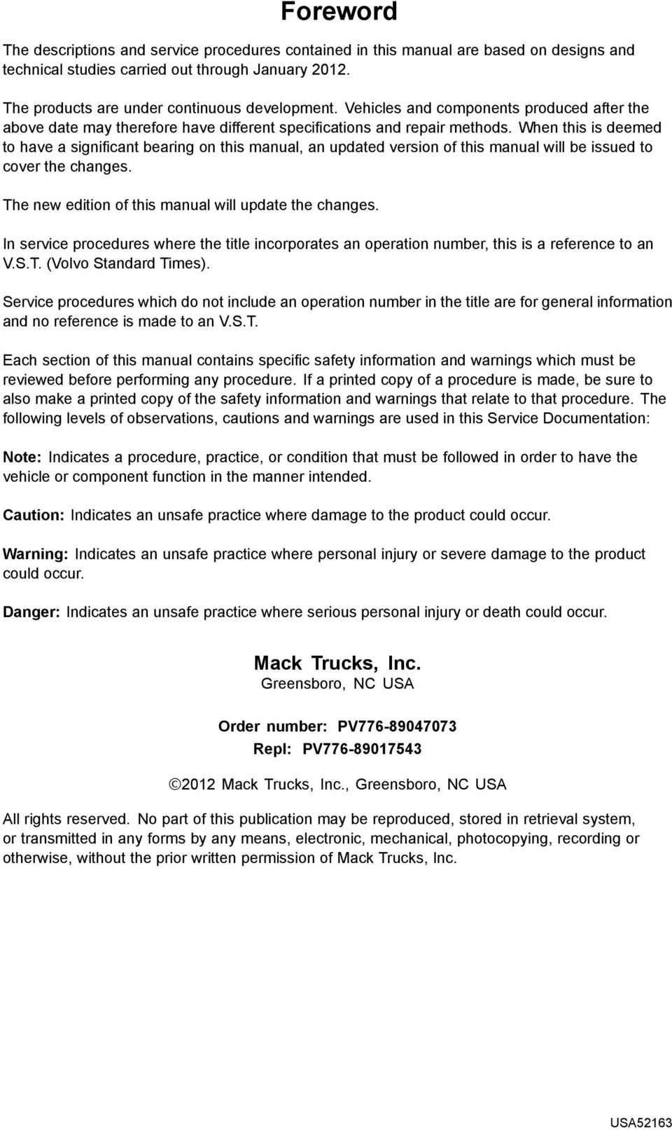 Service Information Trucks Pdf Mack Truck Wiring Harness When This Is Deemed To Have A Significant Bearing On Manual An Updated Version