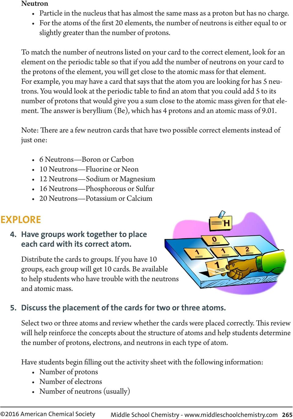 Chapter 4, Lesson 2: The Periodic Table - PDF