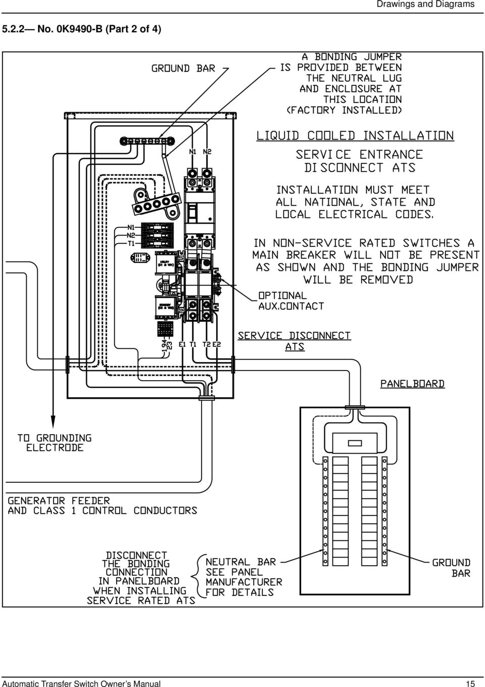For Service Entrance Transfer Switch Wiring Diagram Schematics Entry Rated Ats Car Diagrams Explained U2022 Generator