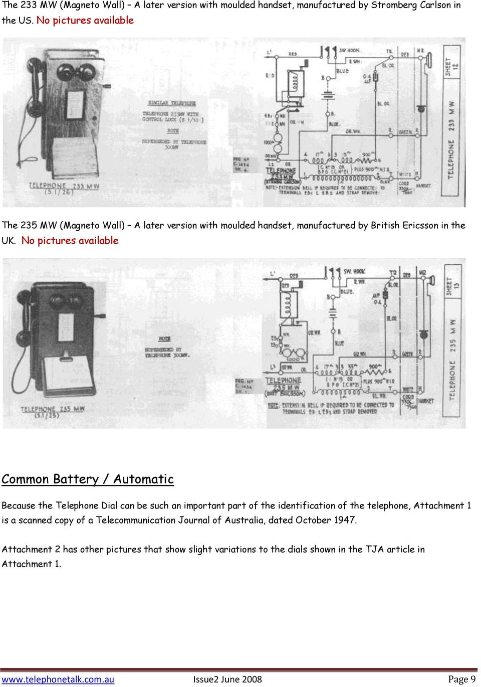 Sterling Wiring Diagram 2001 Sc7000 Simple Diagrams Telephones Used In Australia 1910 To 1930 S Pdf