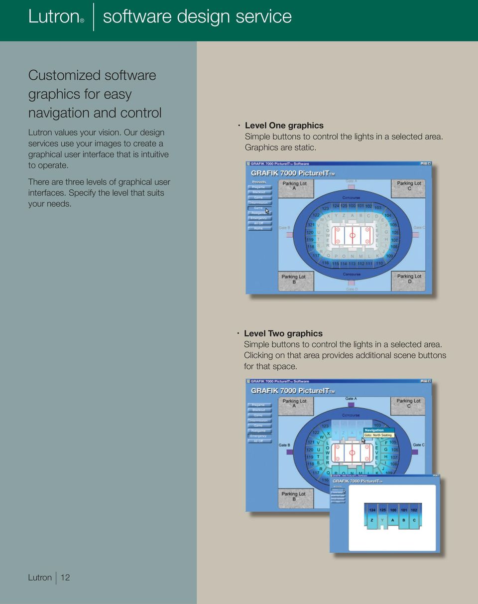 centralized lighting control I integrated solutions - PDF