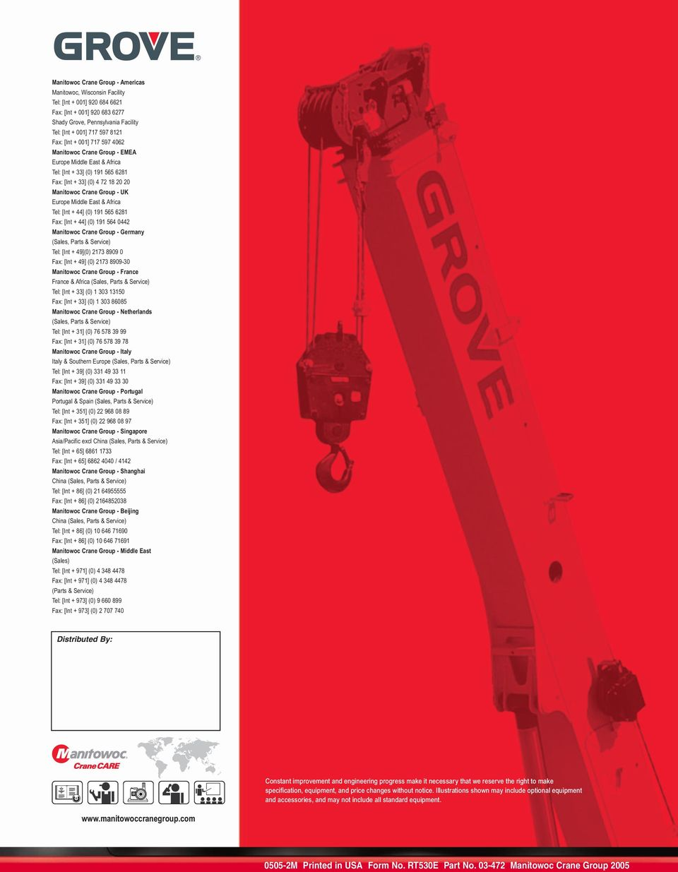 RT530E  product guide  contents  features 30 ton (30 mt