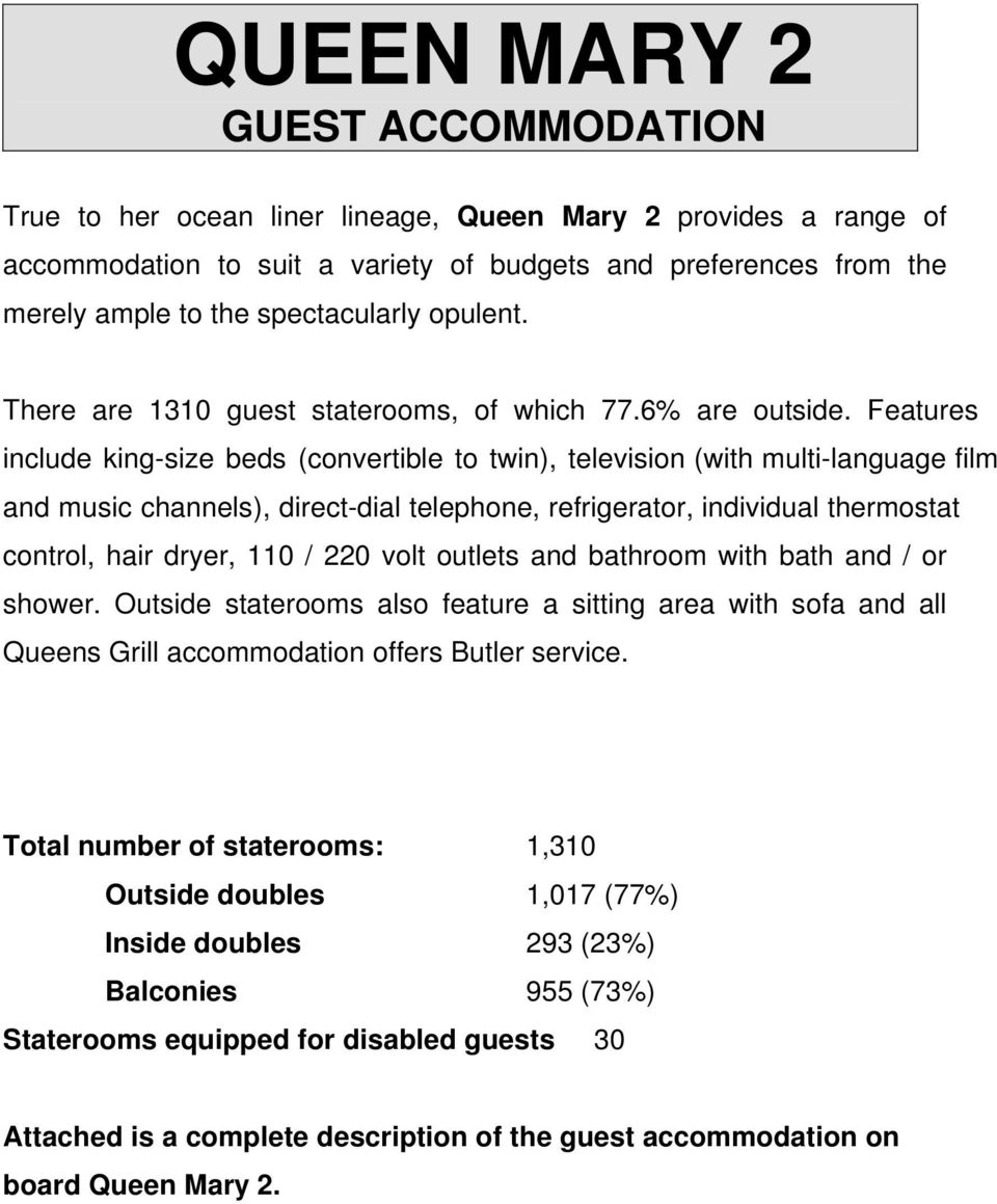 QUEEN MARY 2 GUEST ACCOMMODATION - PDF