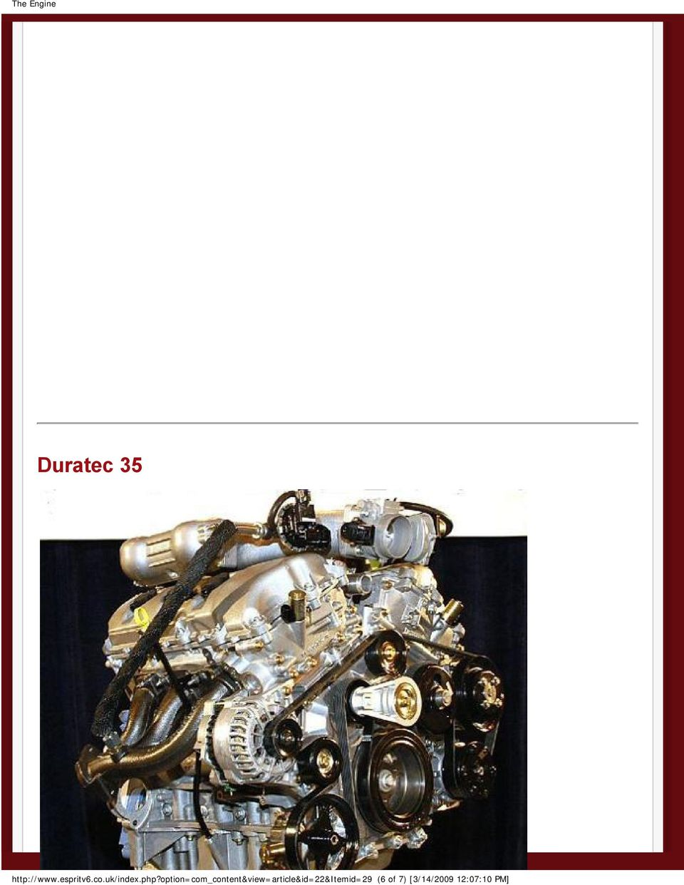 V6 Duratec Jaguar Aj Engine 30 The Pdf 3 0 Ford Assembly Diagram 7 35 Code Name Cyclone Is A New Liter That Will Appear In It An All Aluminum Based On And Adds Variable Valve