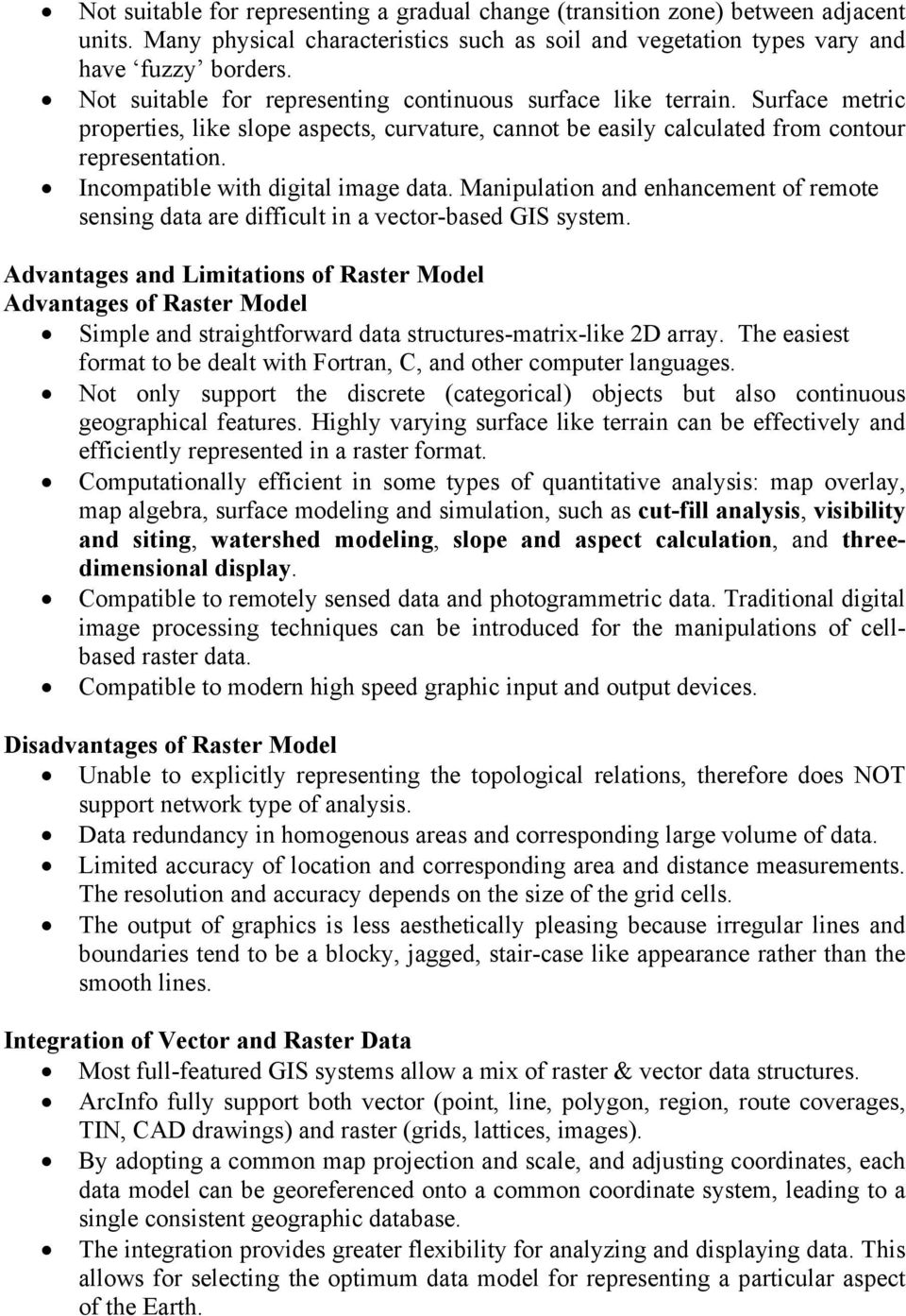 Raster Data Structures - PDF