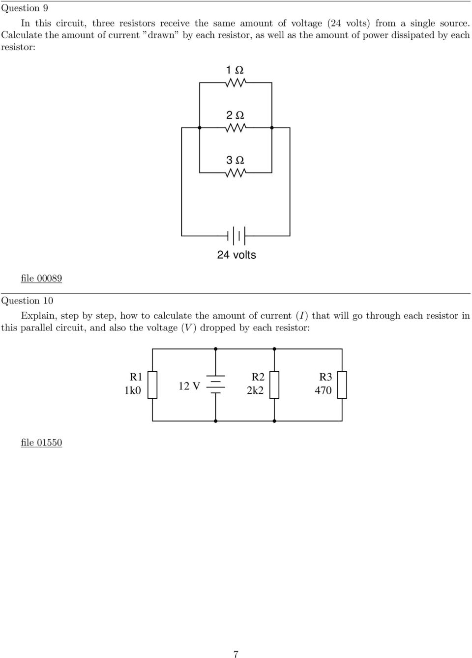 Parallel Dc Circuits Pdf Ps The Part Numbers Are Just Put In By Circuitlab So Please Do Not 3 File 00089 Question 10 24 Volts Explain Step How