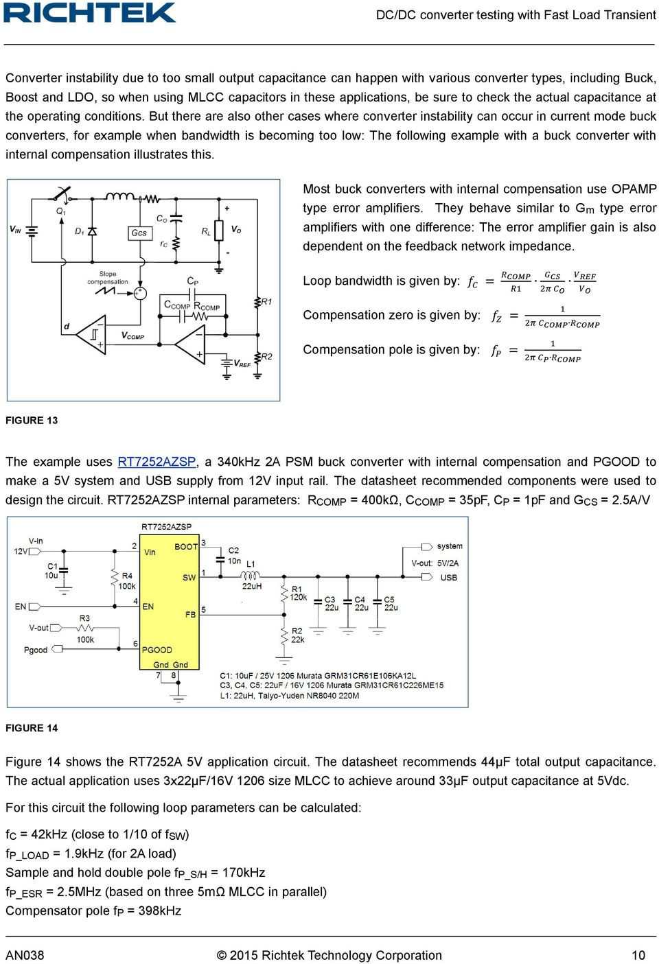Dc Converter Testing With Fast Load Transient Pdf Buck 1 Watt White Led Driver But There Are Also Other Cases Where Instability Can Occur In Current Mode Converters