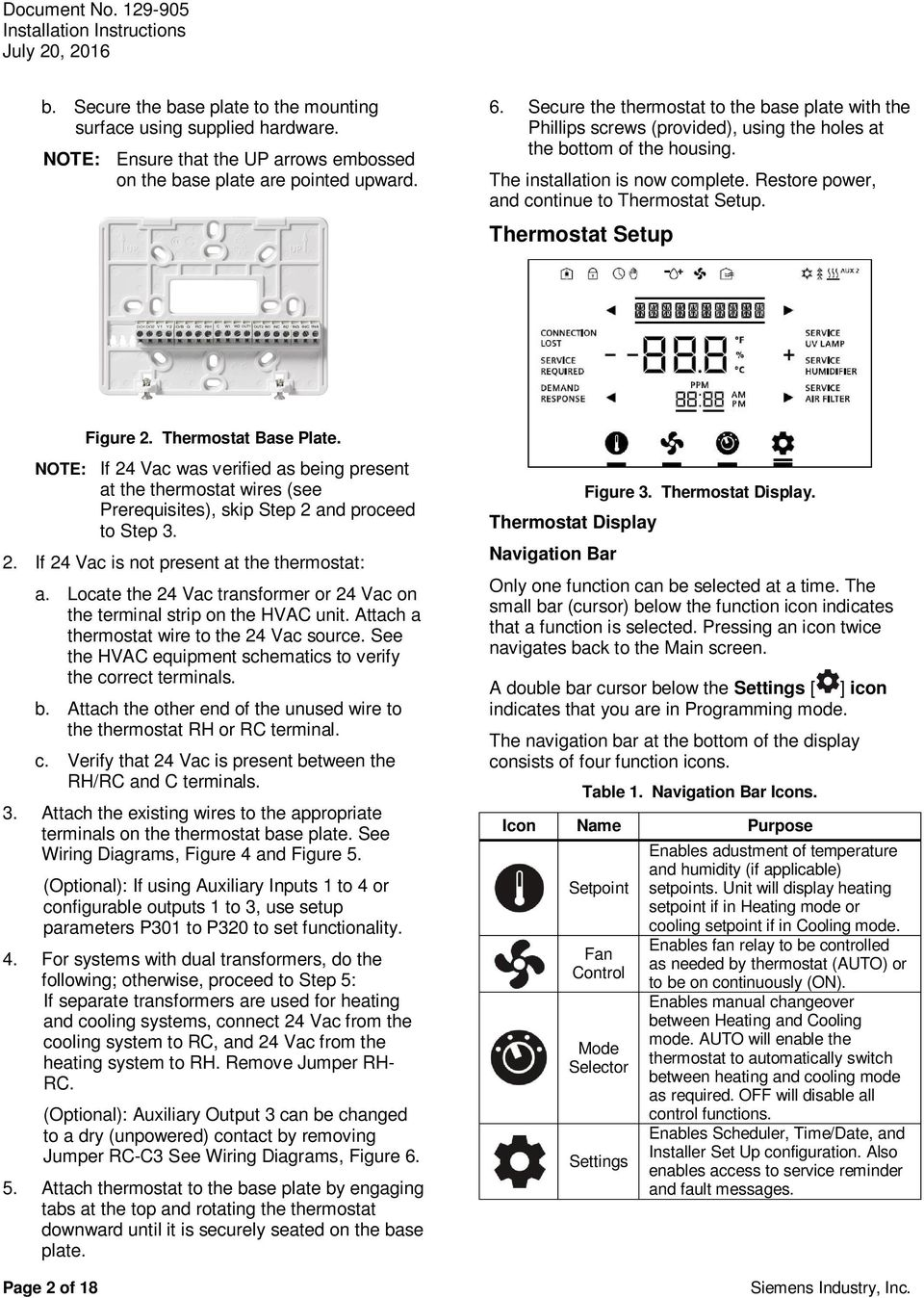 Rdy2000 Commercial Room Thermostat Pdf How To Hook Up A If 4 Vac Was Verified As Being Present At The Wires See Prerequisites