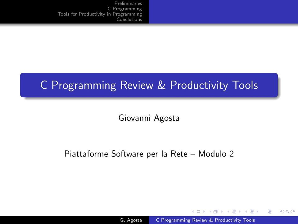 Piattaforme Software
