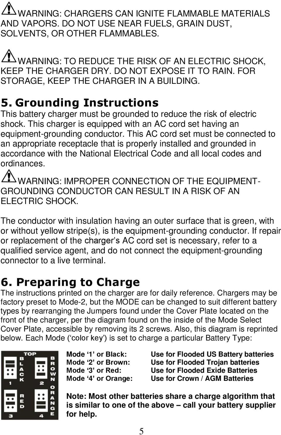 Accusense Charge Series On Off Board Fully Automatic Battery Charger Dpi 48v Wiring Diagram This Is Equipped With An Ac Cord Set Having Equipment Grounding Conductor