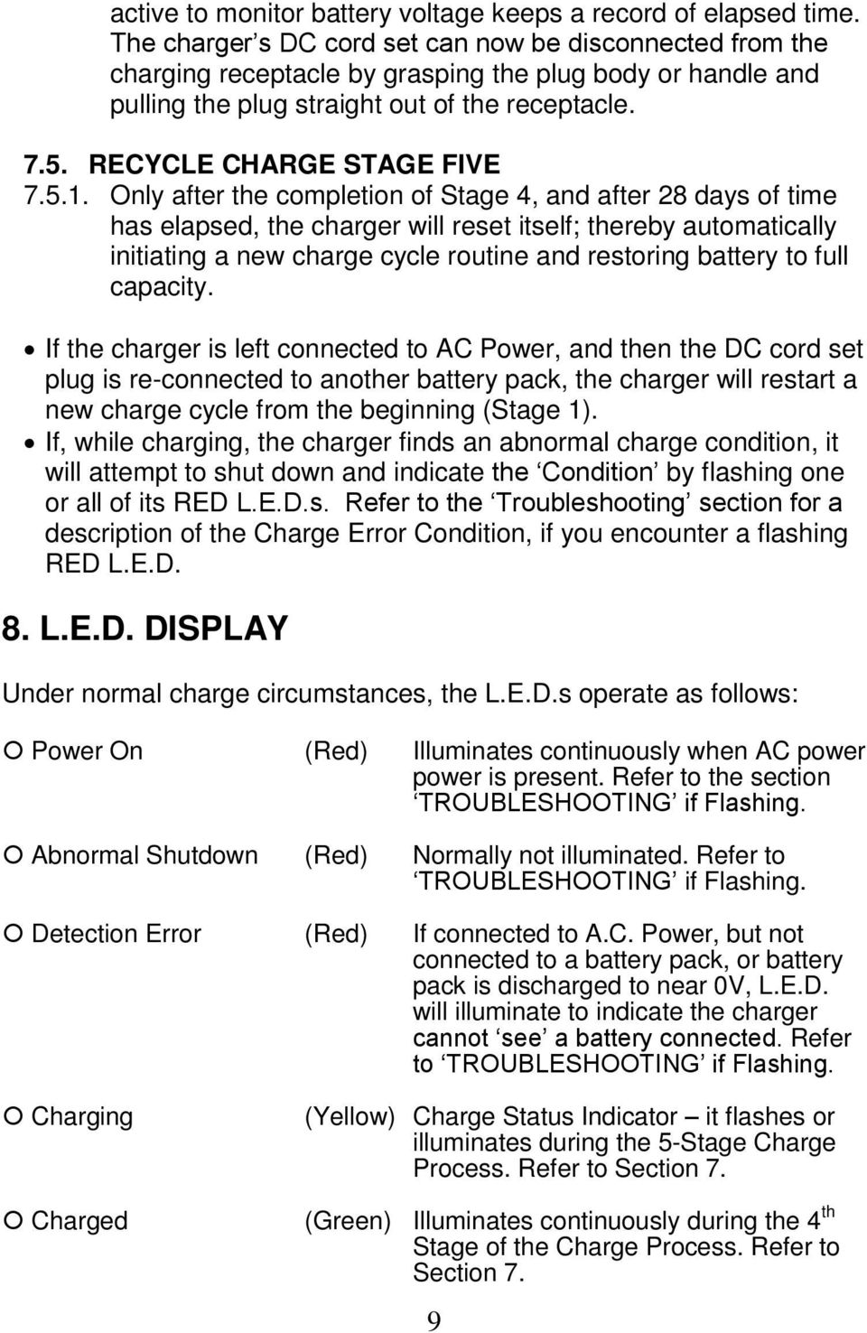 Accusense Charge Series On Off Board Fully Automatic Battery Charger Wiring Diagram For 36 Volt Power Wise Recycle Stage Five 751