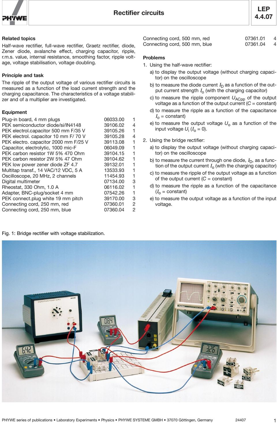 Lep Rectifier Circuits Pdf Rectifiercircuits2 The Characteristics Of A Voltage Stabilizer And Multiplier Are Investigated Equipment Plug