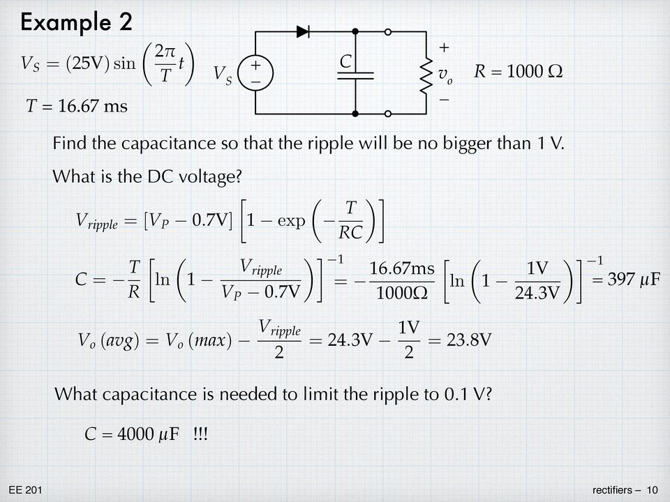 What is the DC voltage?