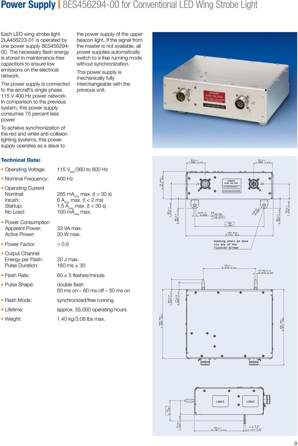 LED Anti-Collision Lighting System for Airbus A320 Family - PDF