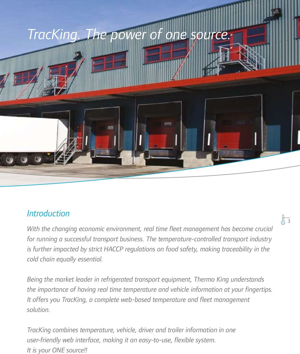 TracKing  Temperature and Fleet Management Solutions