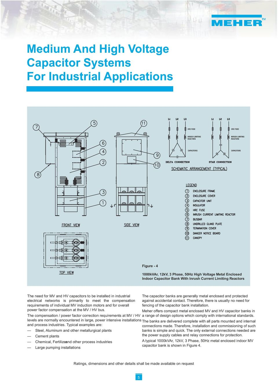 MEDIUM AND HIGH VOLTAGE CAPACITORS, CAPACITOR BANKS AND SYSTEMS - PDF