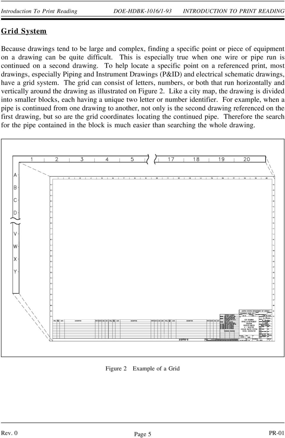 Engineering Drawings Mechanical Pdf Electrical Schematic Letters To Help Locate A Specific Point On Referenced Print Most Especially Piping
