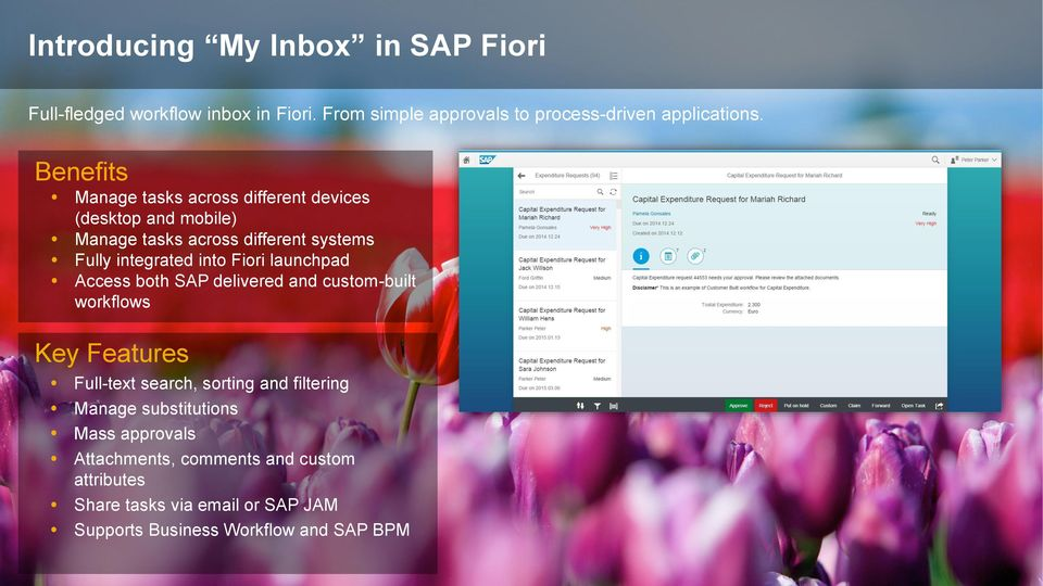 My Inbox in SAP Fiori Simplifying Workflow for End Users - PDF
