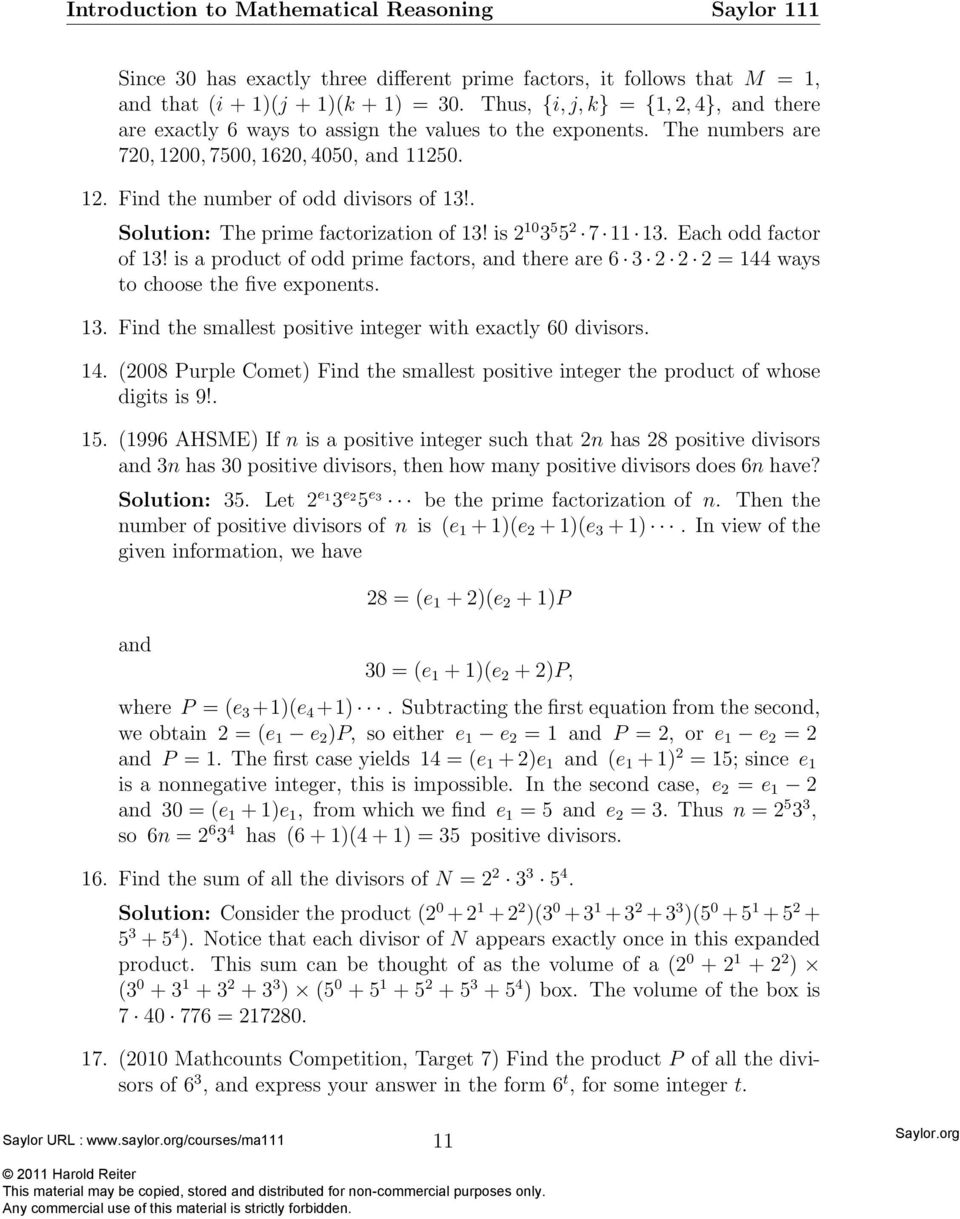 Just the factors ma am pdf is a product of odd prime factors and there are 6 3 2 2 2 ccuart Choice Image