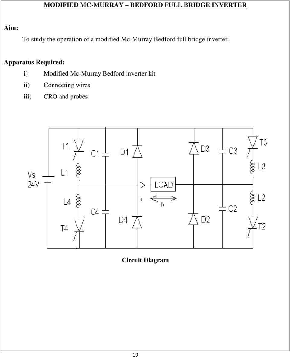 Ee0314 Power Electronics Lab Reference Manual Pdf R And Rc Firing Circuit Diagram Inverter