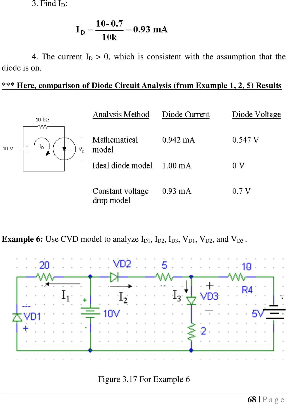 Chapter 3 Diodes And Applications Introduction 5 6 Pdf Diodecircuit Diode Is On