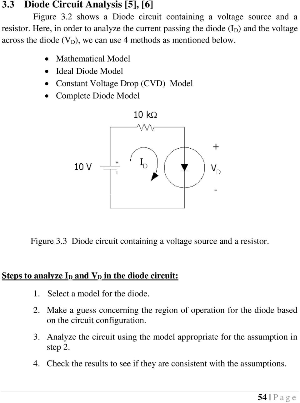 Chapter 3 Diodes And Applications Introduction 5 6 Pdf Part Of A Circuit Shows Half Bridges With Centre Tapped Windings Mathematical Model Ideal Diode Constant Voltage Drop Cvd Complete Figure