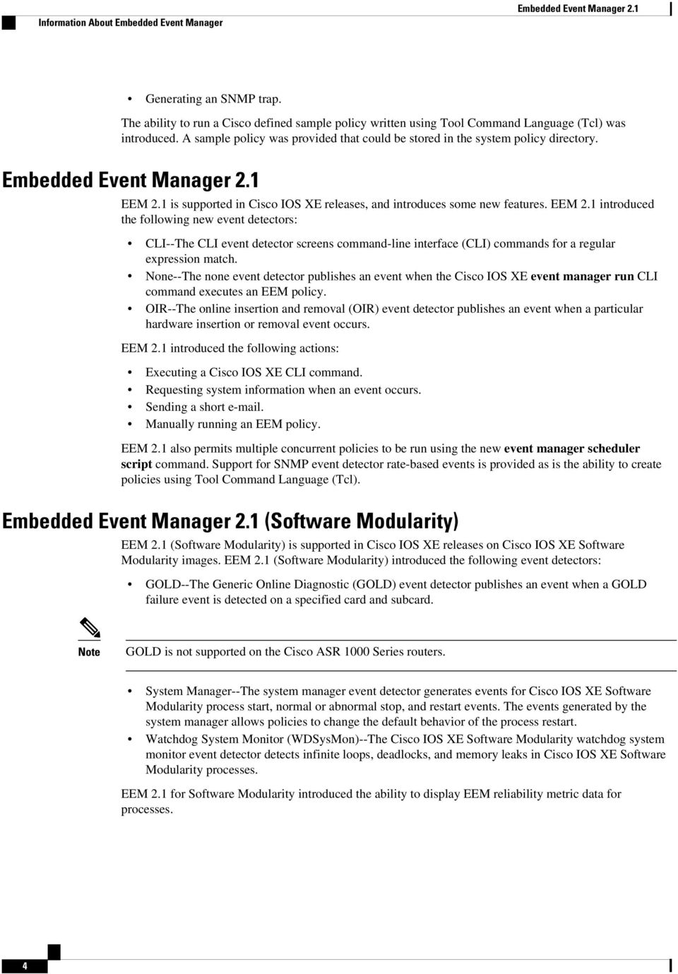 Embedded Event Manager Overview - PDF