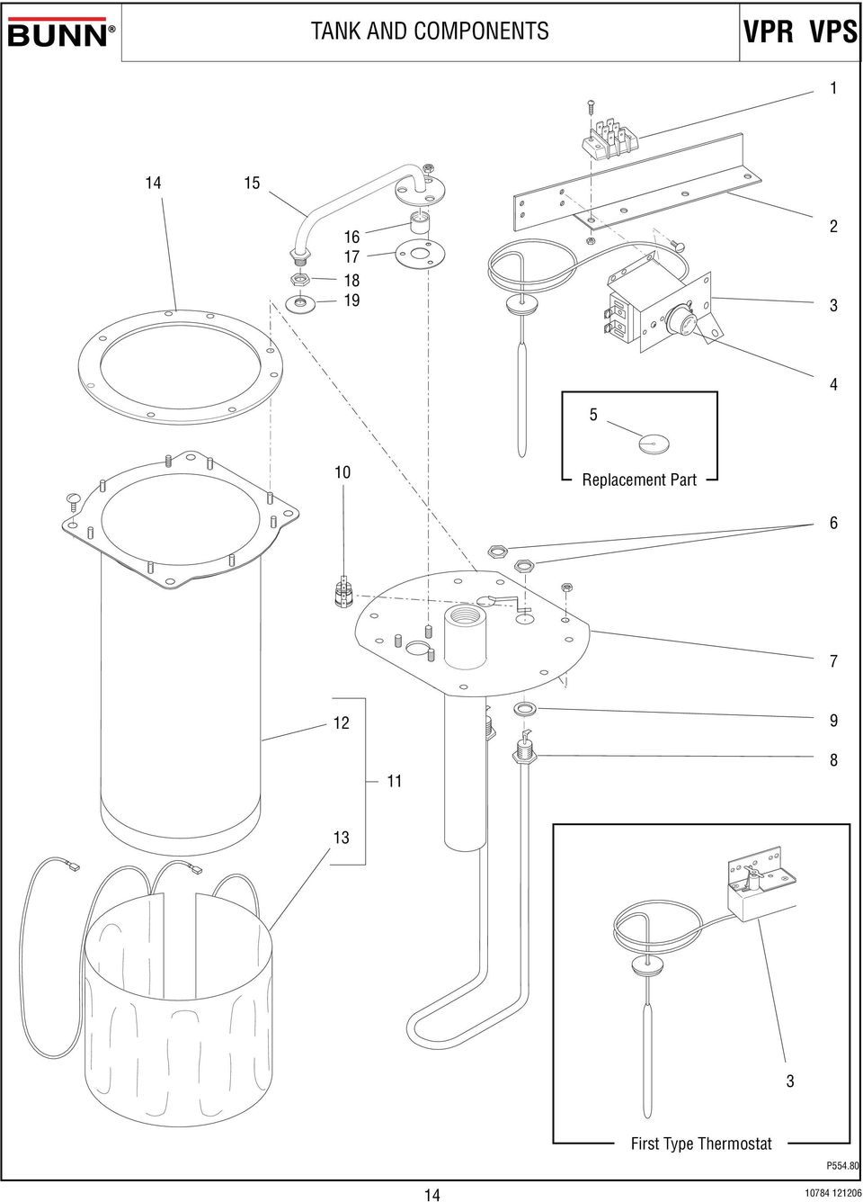 Illustrated Parts Catalog Pdf Bunn Coffee Maker Wiring Diagram Replacement Part 9
