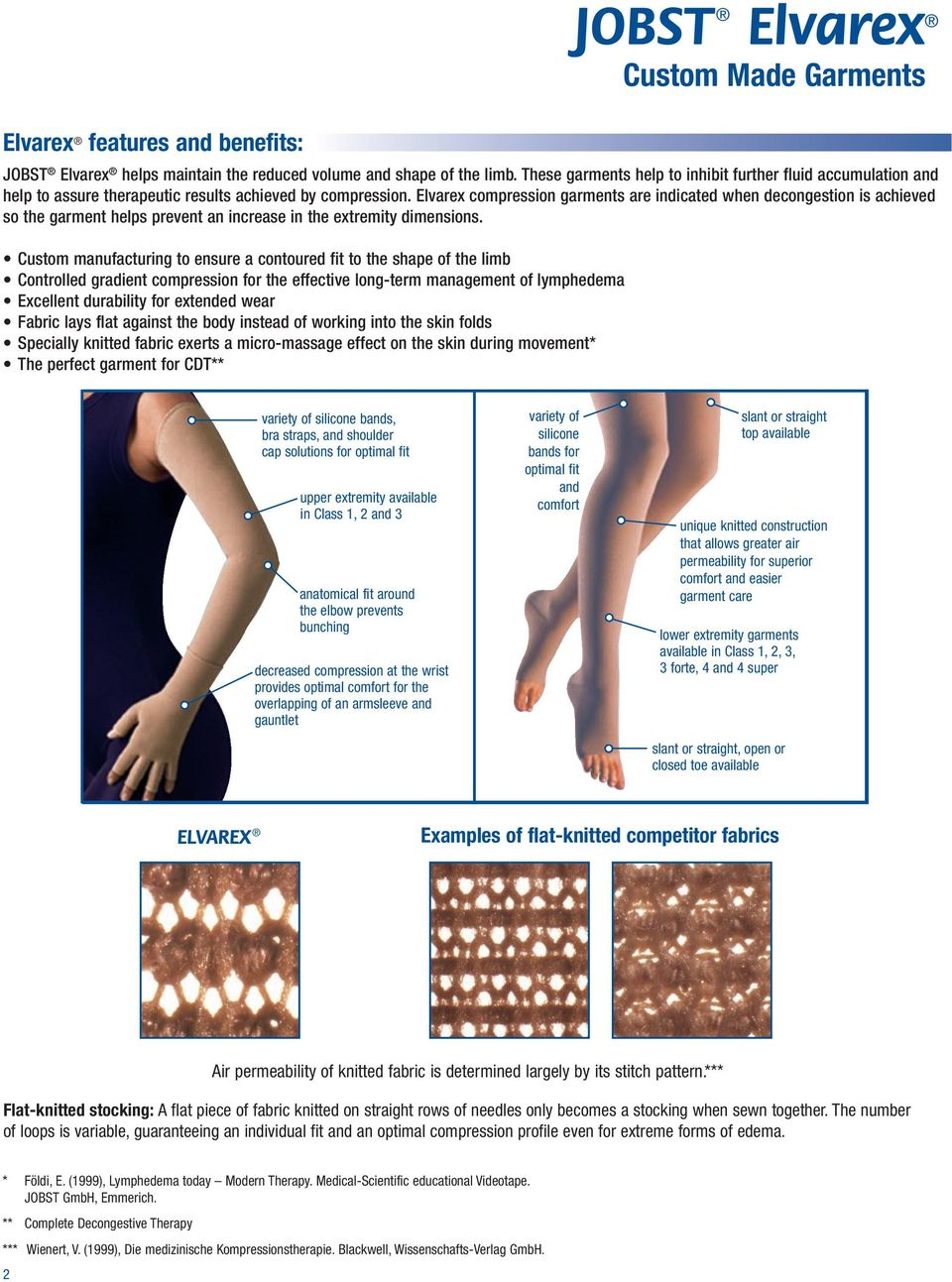 028131b0b4 Elvarex compression garments are indicated when decongestion is achieved so  the garment helps prevent an increase