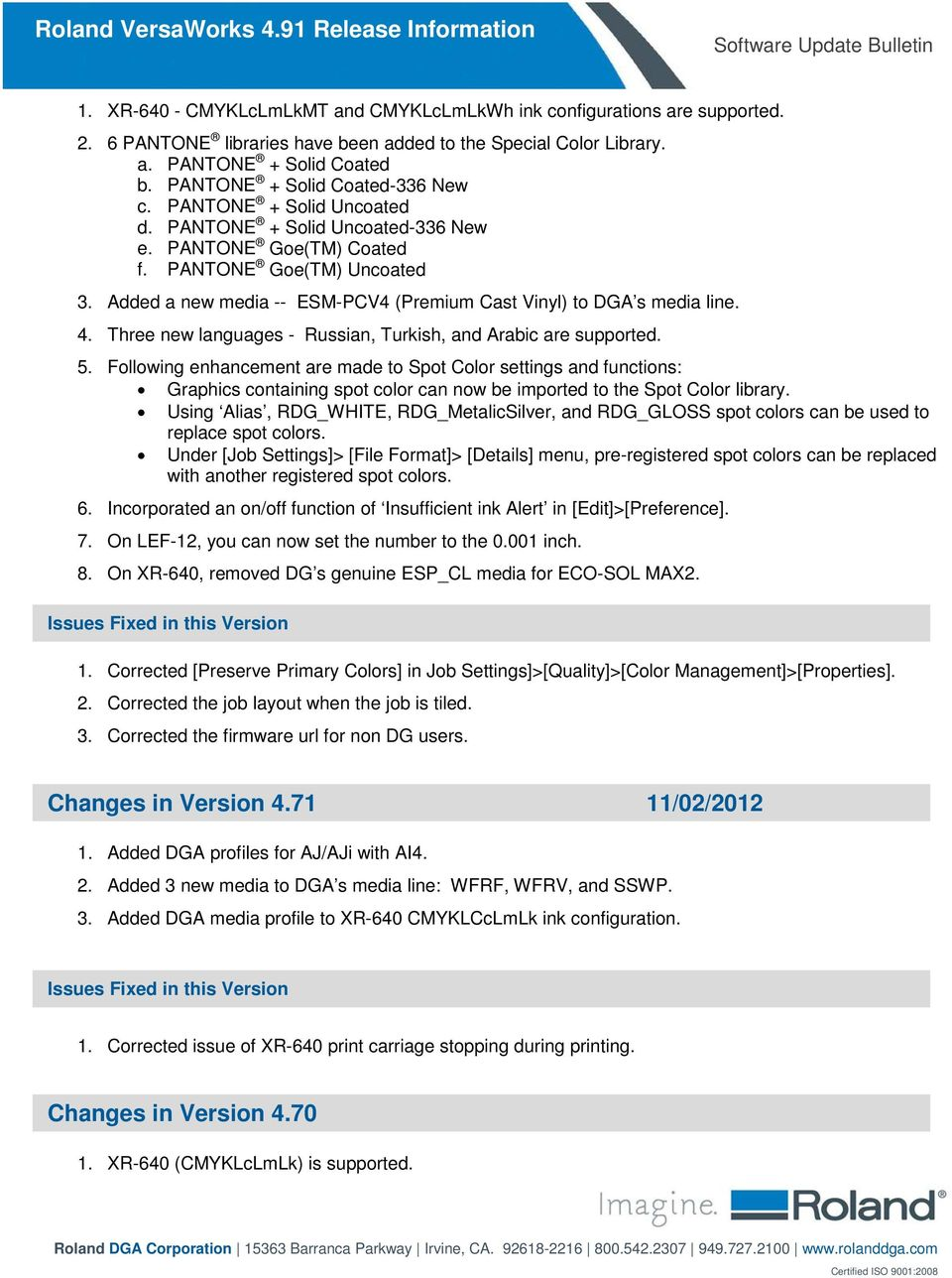 Changes in this Version (5 21) 07/02/ PDF