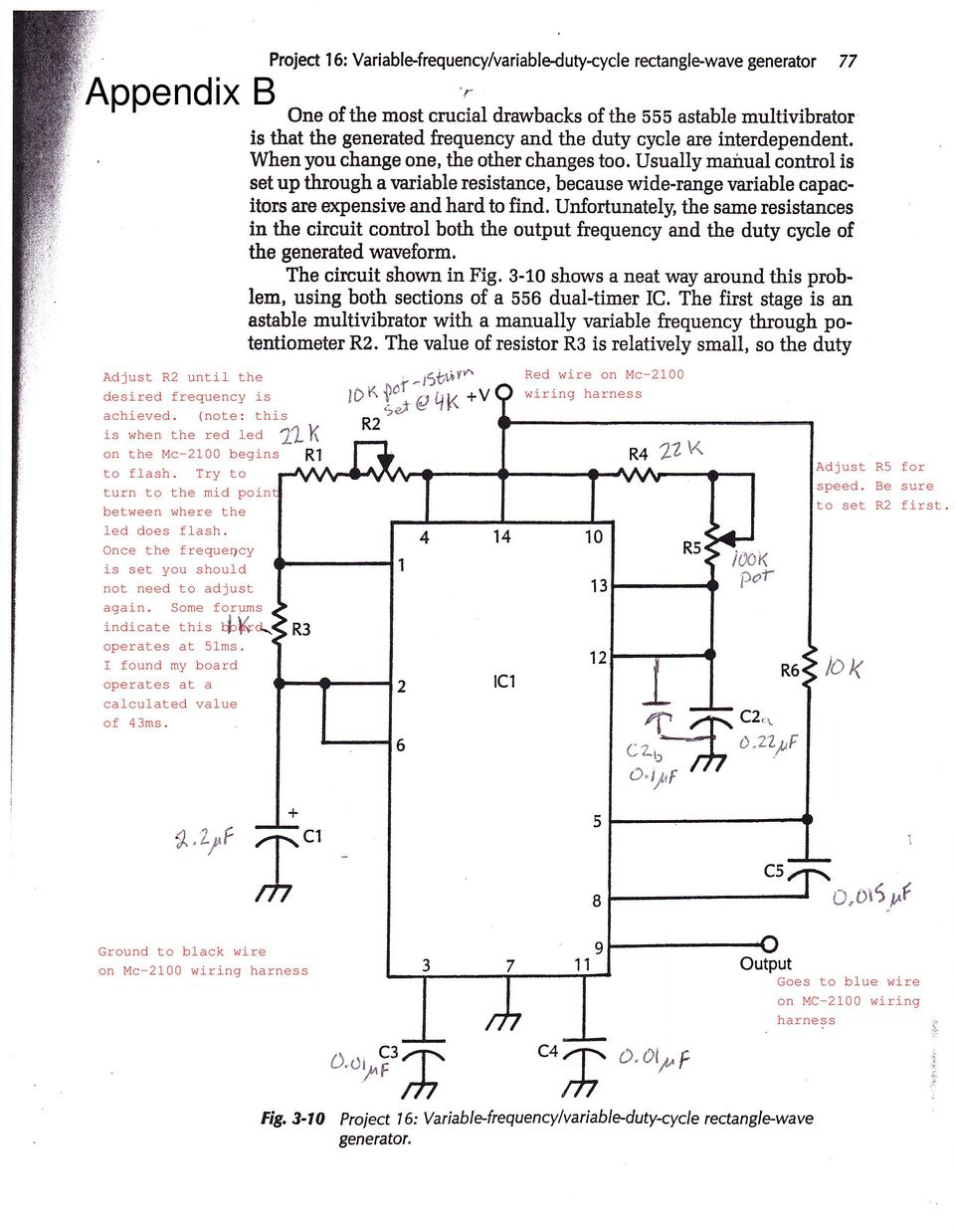 Pwm Circuit For Mc 2100 Motor Controller Board Pdf Unfortunately The Diagrams Do Not Show Internal Circuitry Of Usually Manual Control Is Set Up Through A Variable Resistance Because Wide Range Rnriable