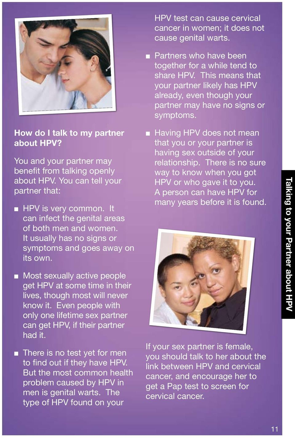 Making Sense of Your Pap and HPV Test Results - PDF