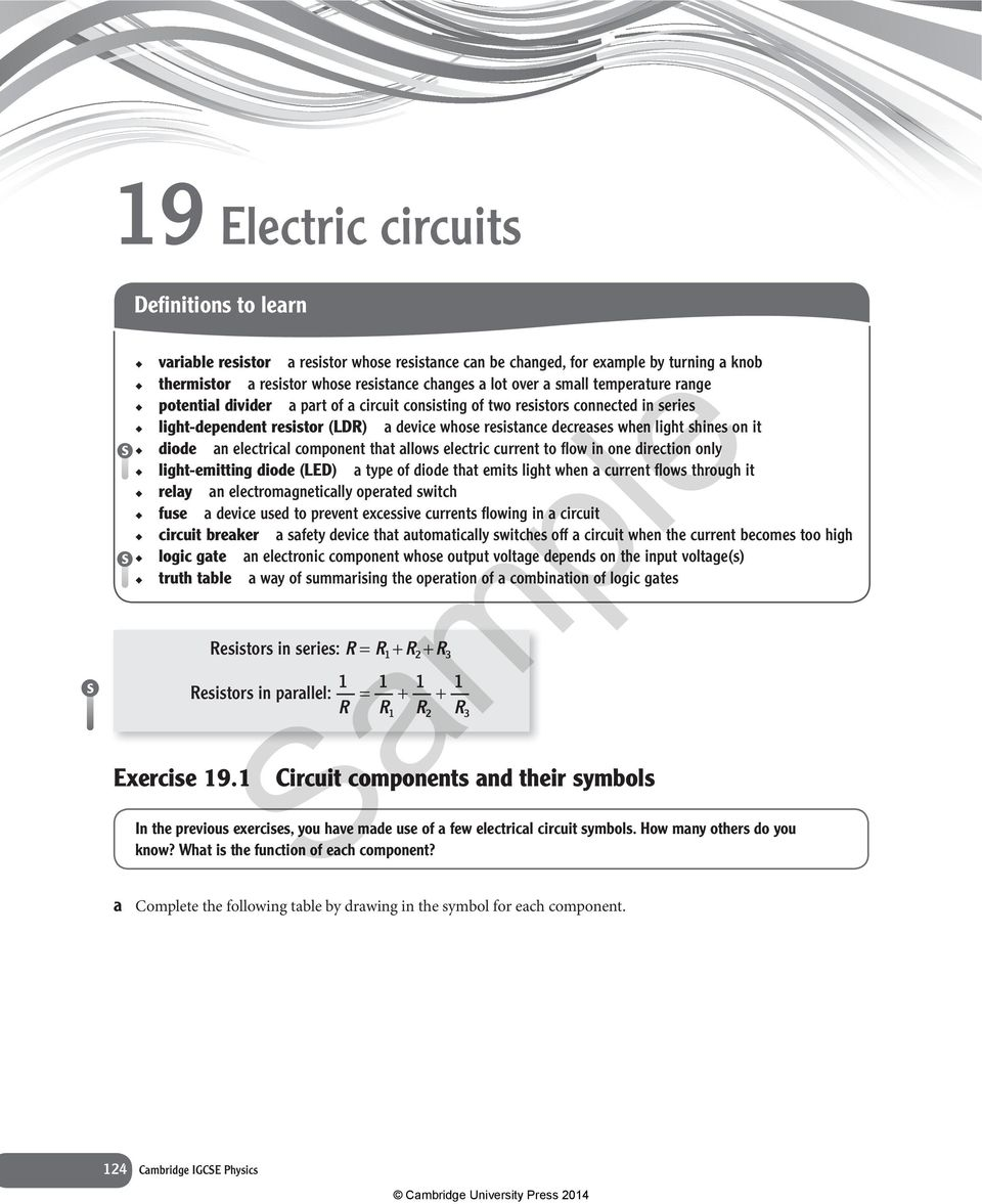 Bitesize Gcse Physics Electrical Circuits Ac And Dc Revision 2