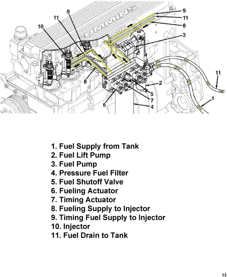 Signature and ISX CM870 Fuel System - PDF