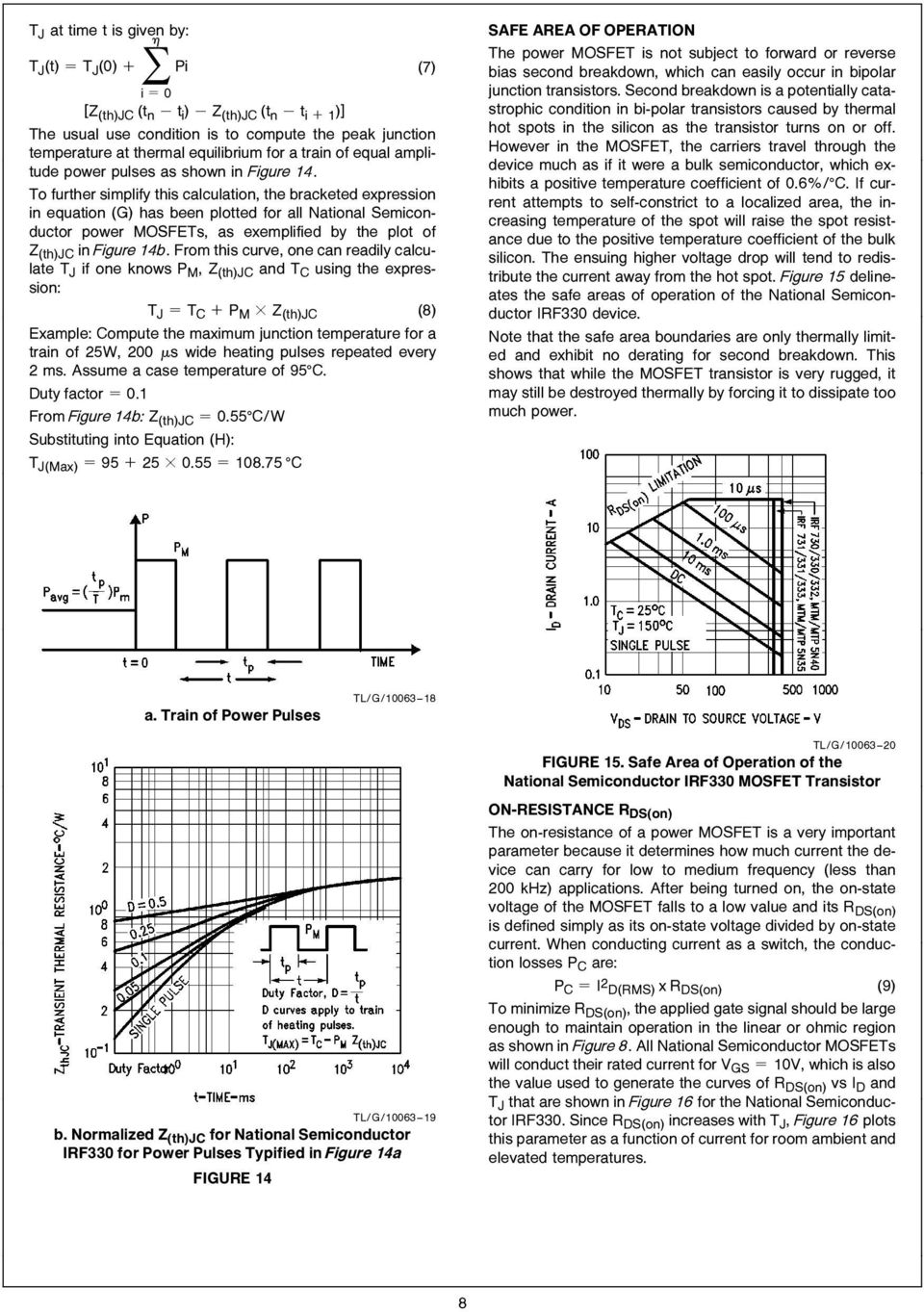 Figure 81 First Mosfet Test Circuit An 558 Introduction To Power Mosfets And Their Applications Pdf Semiconductor As Exemplified By The Plot Of Z Thjc In