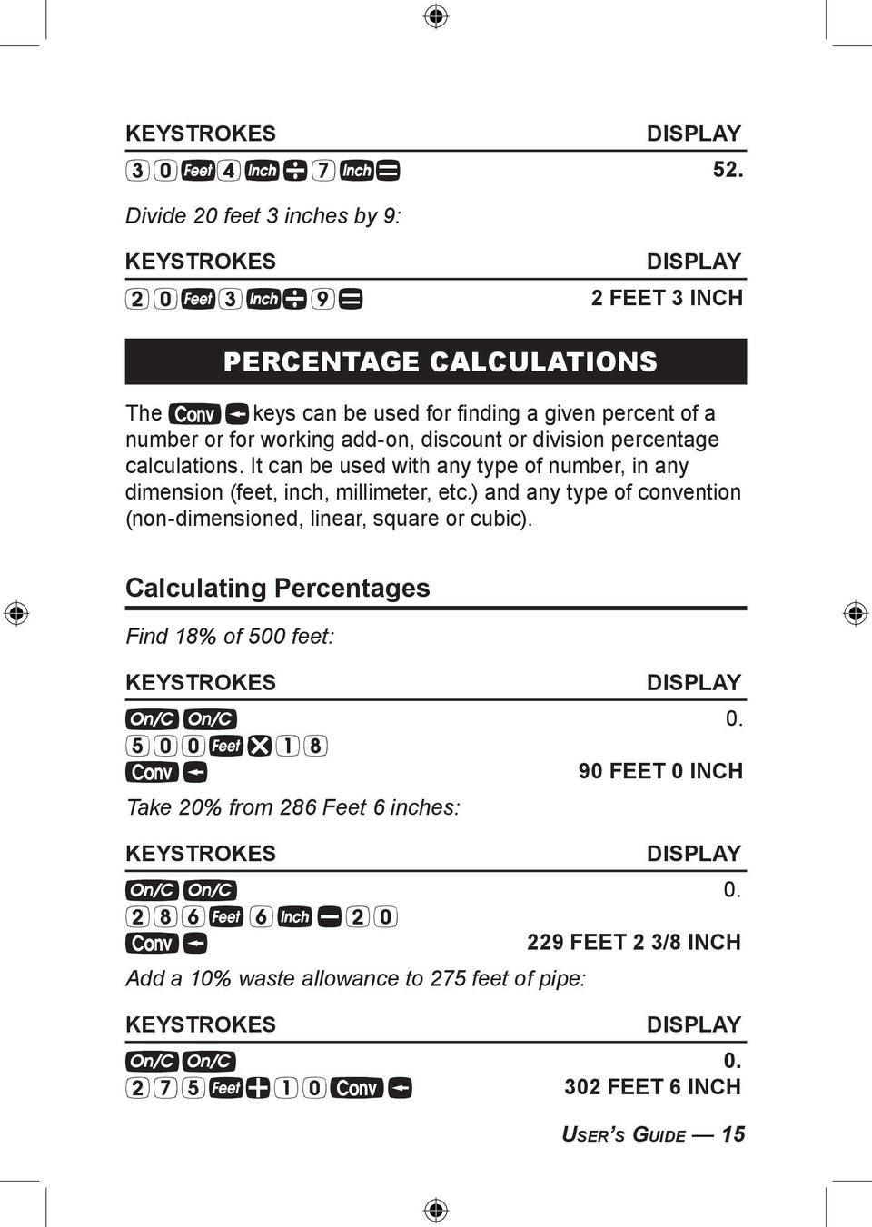 PIPE TRADES Pro  Advanced Pipe Trades Math Calculator  Model PDF