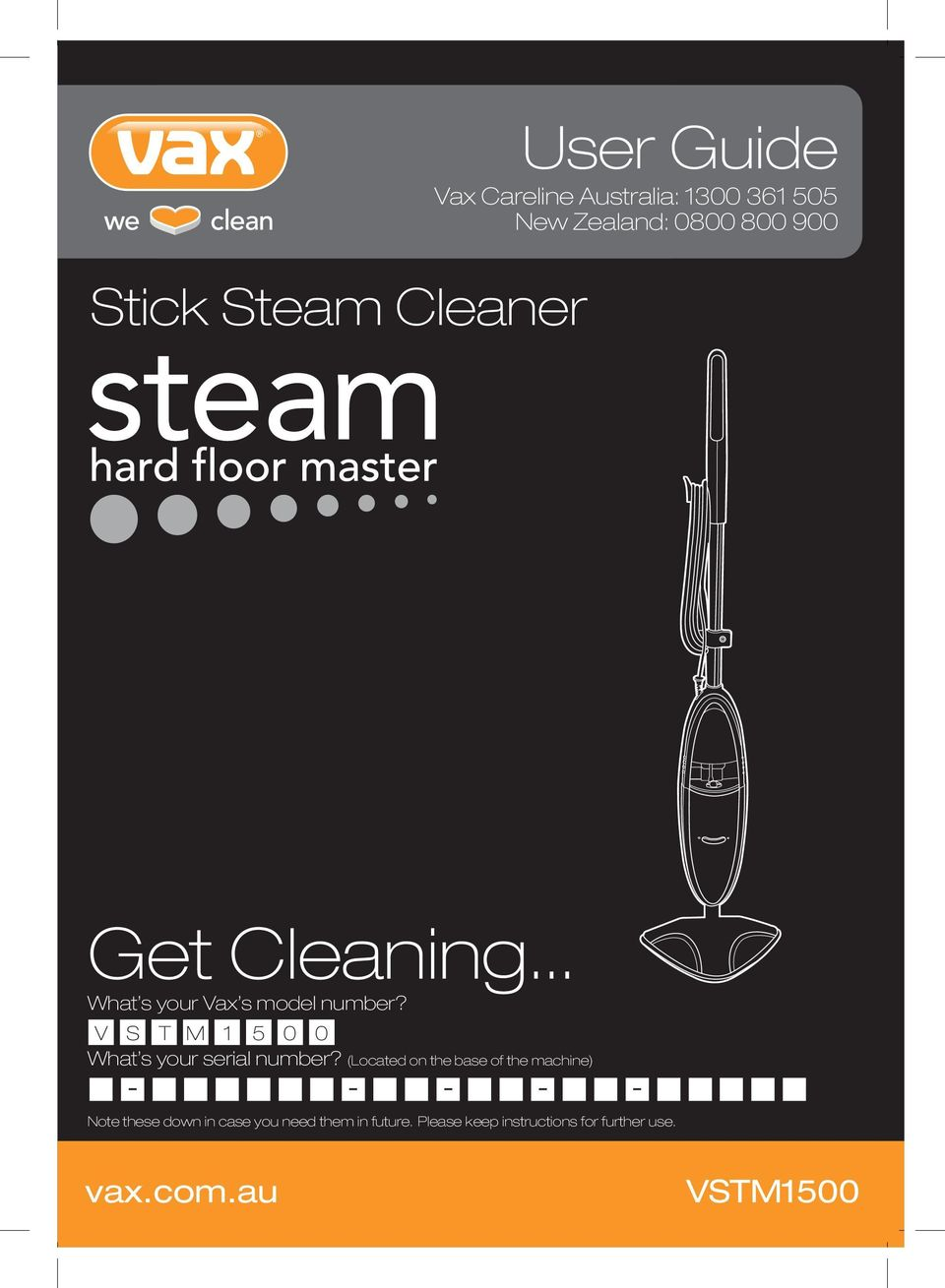 Vax Hard Floor Advance Steam Cleaner Instructions Carpet