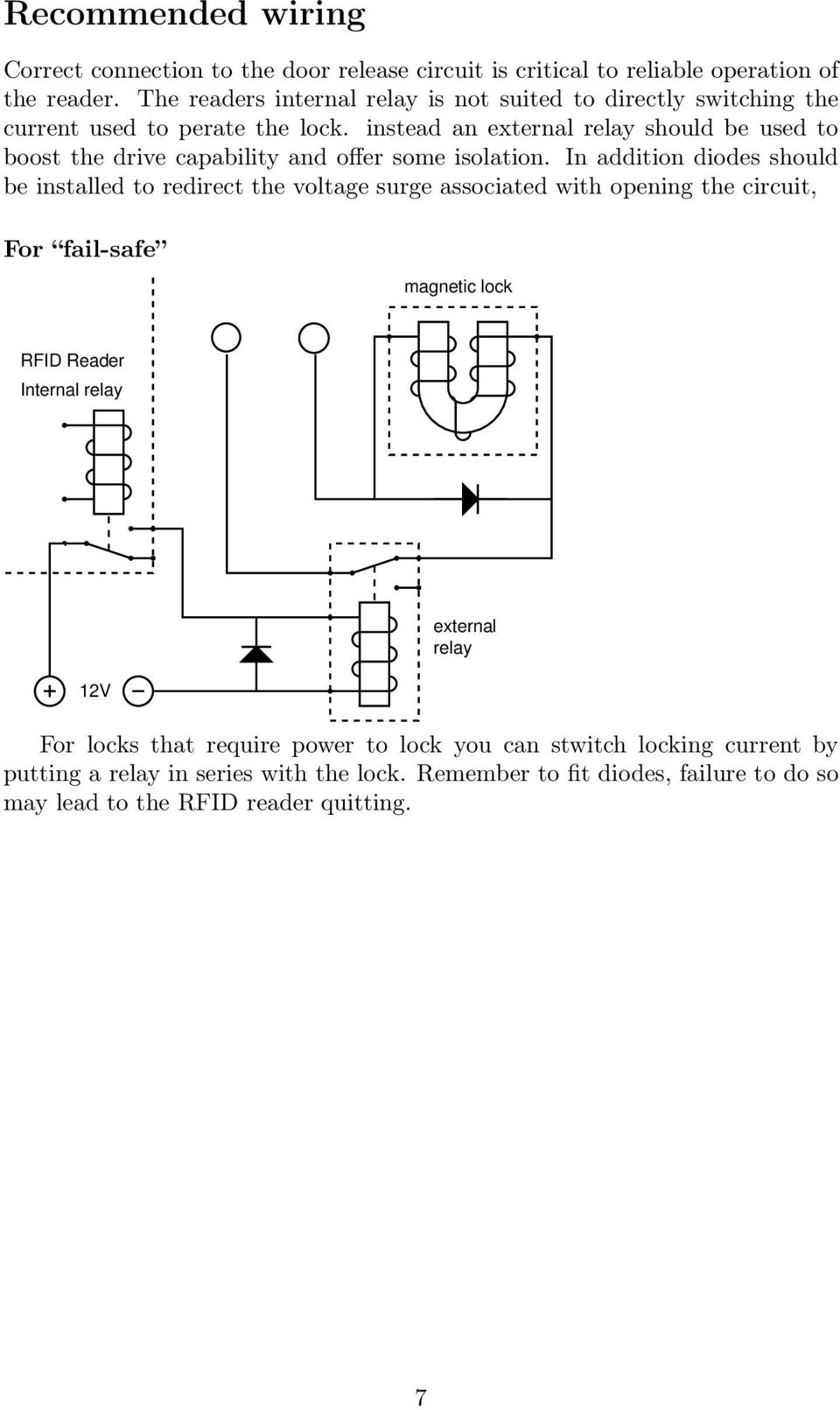 Installation Instructions For Network Readers Pdf Power Outage Relay Instead An External Should Be Used To Boost The Drive Capability And Offer Some Isolation
