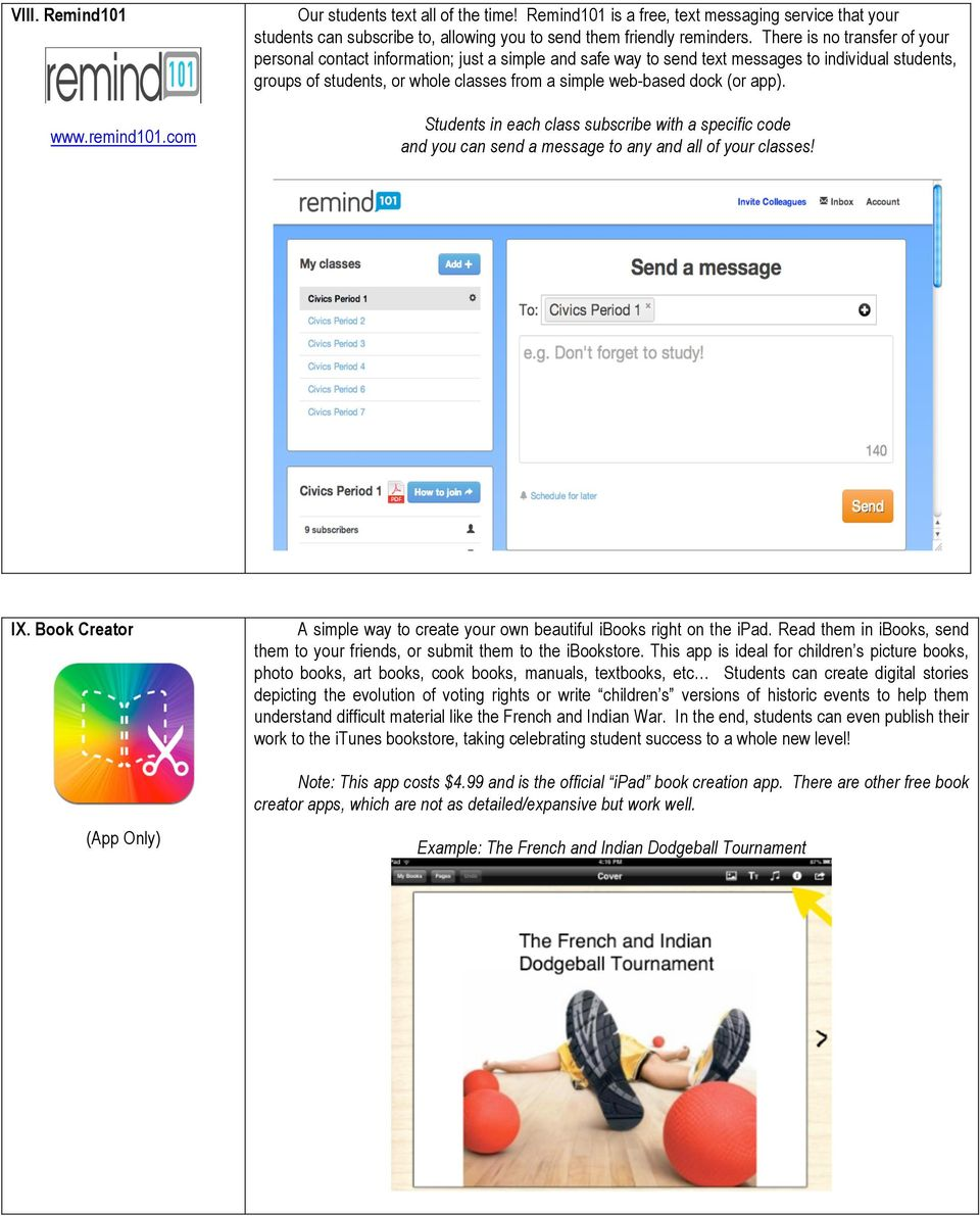 I  Edmodo  (App available) Initial Sign-Up Screen: Student