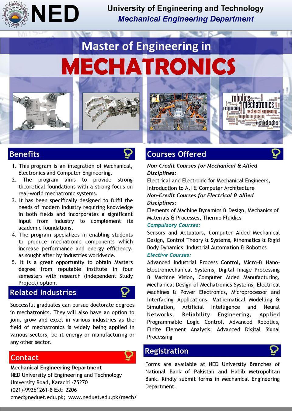 NED University of Engineering and Technology MECHANICAL